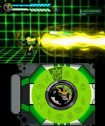 Ben 10 Omniverse Shocksquatch DS