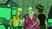 Cylde, Ben, y Vera