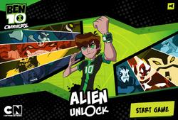 Alien unlock logo
