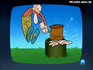 Caricatura que ve el sherif