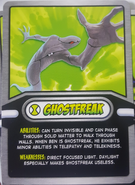 Ghostfreak Cereal Card