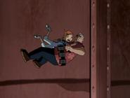 Gwen y max cayendose
