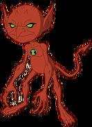 Pose de Diabrete em Supremacia Alienígena