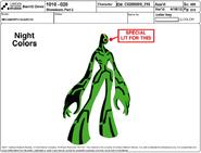 Mechamorph Guard 03 Model Sheet