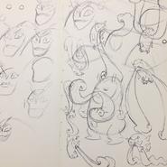 Mole-Stache Concept Art