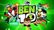 Ben 10 Reboot Season 3 Title Card with 2010 CN logo above the show logo