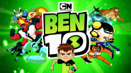 Ben 10 Reboot Season 3 Title Card with 2010 CN logo above the show logo