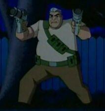 Abuelo Max con pistolas