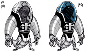 Bubble Helmet concept art