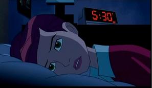 Gwen Waking Up