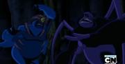 Mizaru DNAlien vs Macaco-Aranha Supremo
