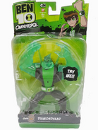 Diamondhead toy omniverse in box