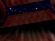 Escusa de aire de la nave de tetrax abriendose