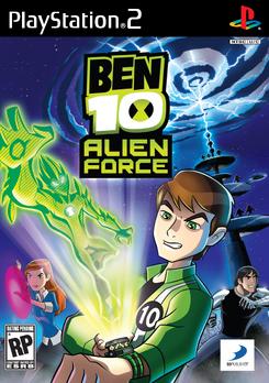 Ben10 AF PS2 Cover
