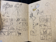 Forever Knight and XLR8 Sketches 3