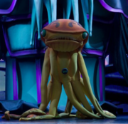 Squidstrictor in stage