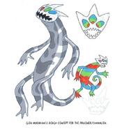 Prisoner 775-Chamalien Concept Art by Glen Murakami