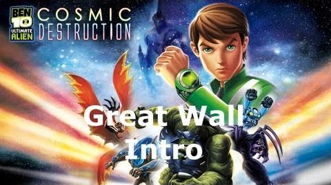 Ben 10 Great Wall - Intro