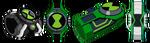 Omnitrixs Slider Piece
