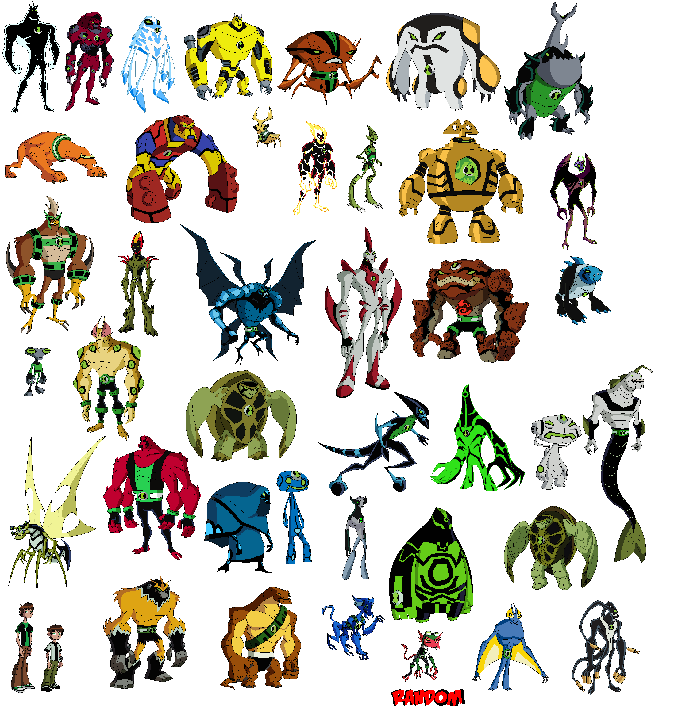 Imagem todos os aliens omniverseg universo ben 10 fandom todos os aliens omniverseg voltagebd Images