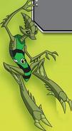 Crashhopper action pose