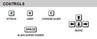 Omnitrix unleashed game controls