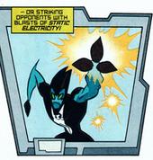 Explosões de eletricidade estática dos Kineceleranos
