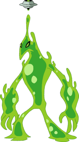 ben 10 coloring pages goop - photo#35