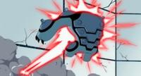 Cannonbolt Supremo atacado por laser