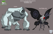 Rough Yeti and Mothman Concepts