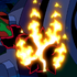 Character heatblast spikedball