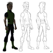 Pierce Model Sheet