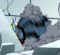 Cannonbolt Supremo acabando con Aggregor
