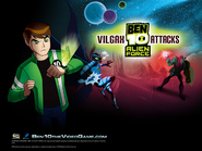 Big Chill, Vilgax UAF action poses