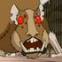 Mutant hamster character