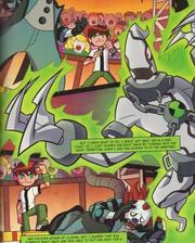 11 year old Ghostfreak in an Omniverse Comic