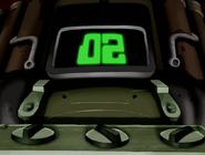 Bomba del doctor animo en cuenta regresiva de 02 segundos en ben 10 el secreto del omnitrix