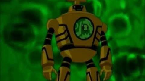 Ben 10 Ultimate Alien Clockwork Transformation
