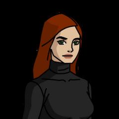 Gwen Tennyson w jednym ze strojów w serii