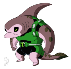 SharkAron Pose