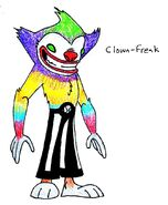 46 Clown Freak by JakRabbit96