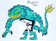 Razor Tail by JakRabbit96