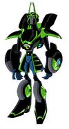 Custom omnitrix alien samurbot by mastvid-d6xksgr