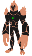 Ultimate heatblast by patchman-d3eibkm