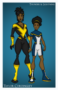 Thunder and lightning dc nation by femmes fatales-db0ce4e