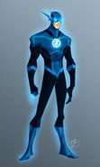 Blue lantern flash by ericguzman-d5v7xgg
