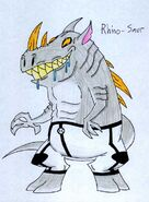 Rhino Saur by JakRabbit96
