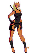 Tigress young justice by kawoxd-d6jc2po
