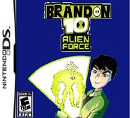 Brandon 10 Alien Force - The Game (DS)