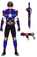 Elite Plumber Patriot Armor